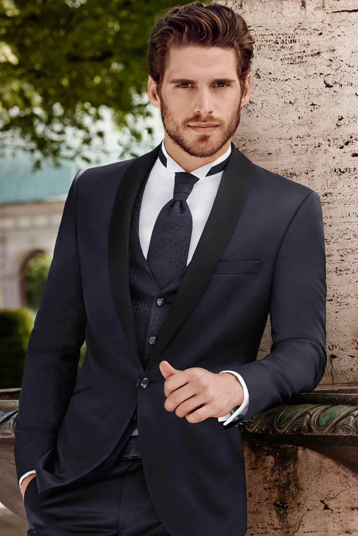 2018 new custom made blue male designer suits men and men ...