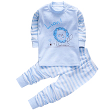 Baby Pajamas for boys girls t shirt homewear 1 2 3 years Children's pajamas home suit pj costumes set baby clothing for boys 18M