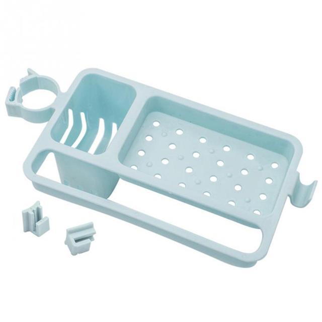 Esponjas de Vazamento Ajustável Prateleira multifuncional Prateleira Pia Da Cozinha Canto Banheiro Cozinha Rack de Plástico Durável