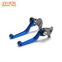 CNC Pivot Dirt Foldable Bike Brake Clutch Levers For YAMAHA WR250R WR250X SEROW 225 250 TTR250 XT250X TRICKER DT230LANZA