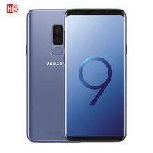 Entsperrt Original Samsung Galaxy S9 Plus 6,2 Zoll Octa-Core Dual Sim Handy 64GB 12MP 3500mAh qualcomm Smartphone LTE