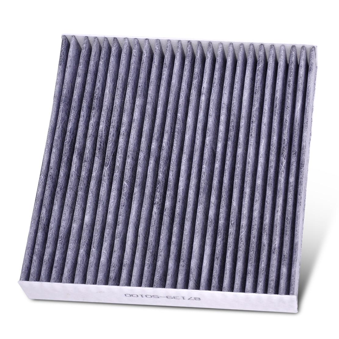 Dwcx car carbon fiber cabin air filter 87139 50100 87139 yzz08 87139 yzz08 for toyota 4runner camry corolla highlander prius