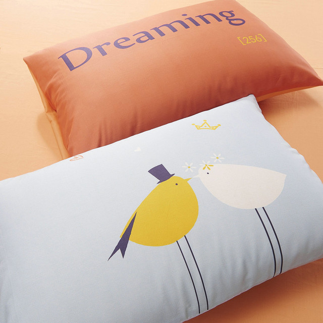 Personalized Pair of Pillow Cases various print – 100 Cotton