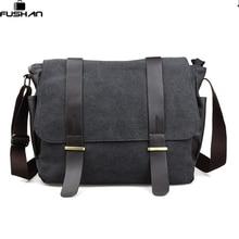 Die neue 3 farbe Taschen Messenger Bag herren Jahrgang Leinwand Schule Military Umhängetasche Retro Style Kaffee männer Crossbody Taschen