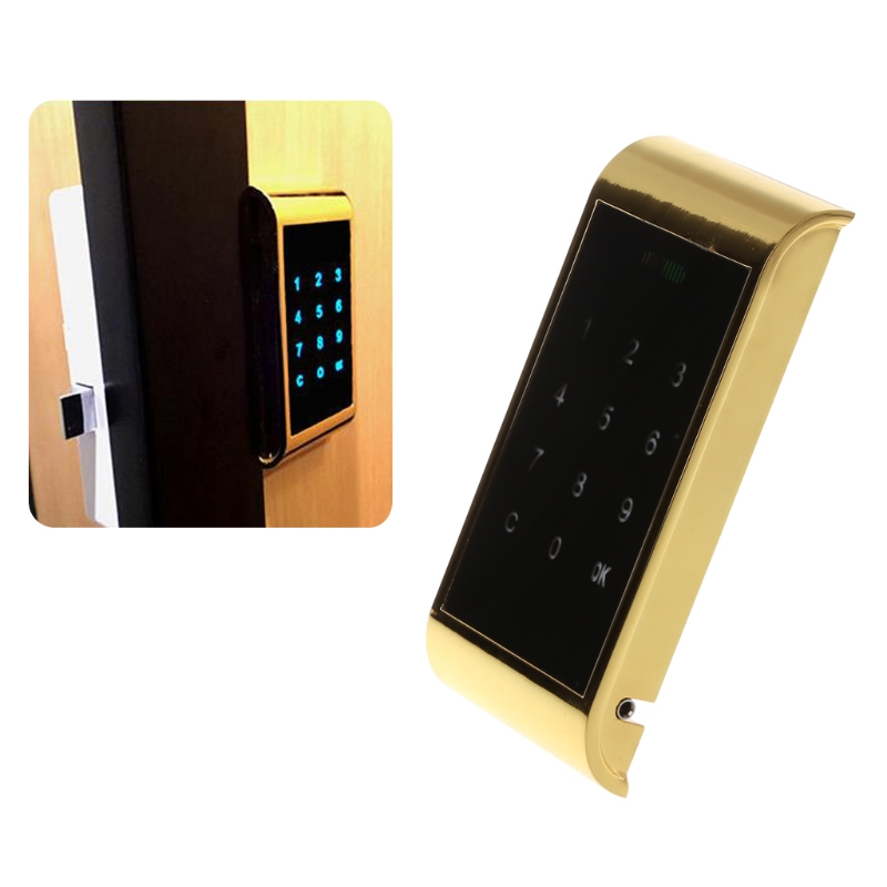 Workmanship Mechanical Digital Door Lock Zinc Alloy Push Button Keyless Entry Code Combination Lock Home Security Furniture Hardware Exquisite In