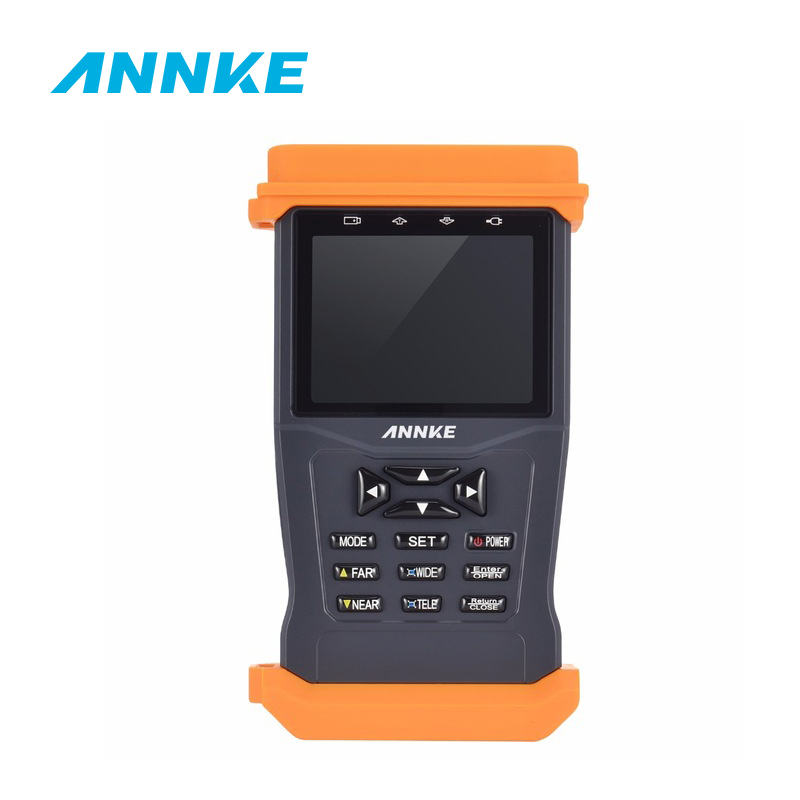 ANNKE AHD Hybrid CCTV Tester with 3.5-inch LCD Screen CCTV Camera Video Tester Support PTZ control dhl fedex frees shiping new product pro security ahd hybrid cctv tester 3 5 tft cctv camera video ptz tester brand new