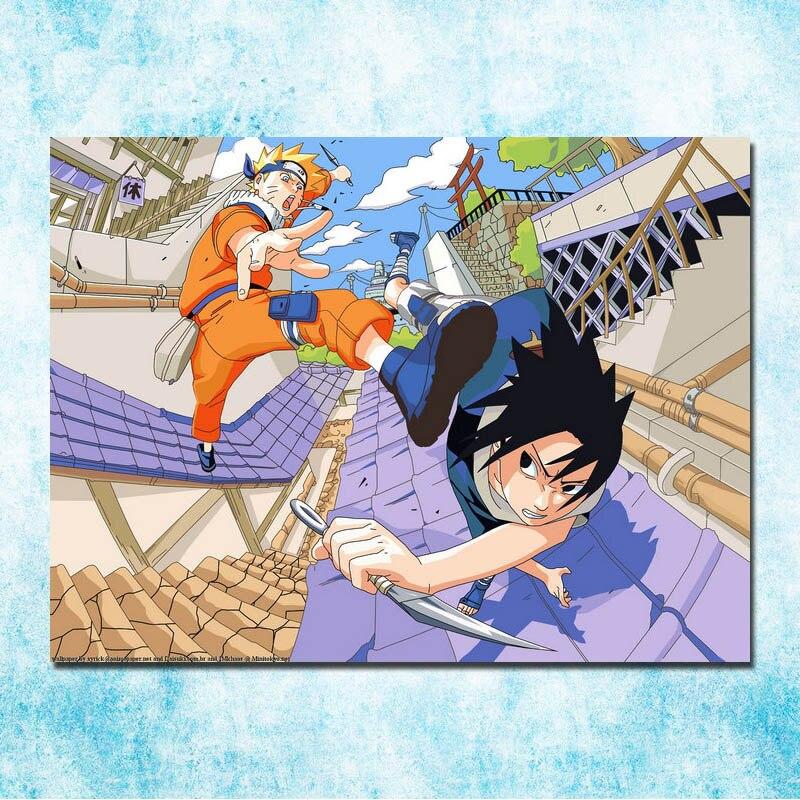 Naruto Japanese Anime Silk Art Poster Print 12x18 24x36 inch