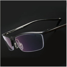 Toptical 안경 광학 안경 프레임 남성 안경 처방 반 무테 안경 Half Rim Eye Glassses