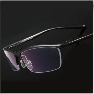 Image 1 - Toptical 眼鏡光学メガネフレーム男性眼鏡処方ため半リムレス眼鏡ハーフリム glassses