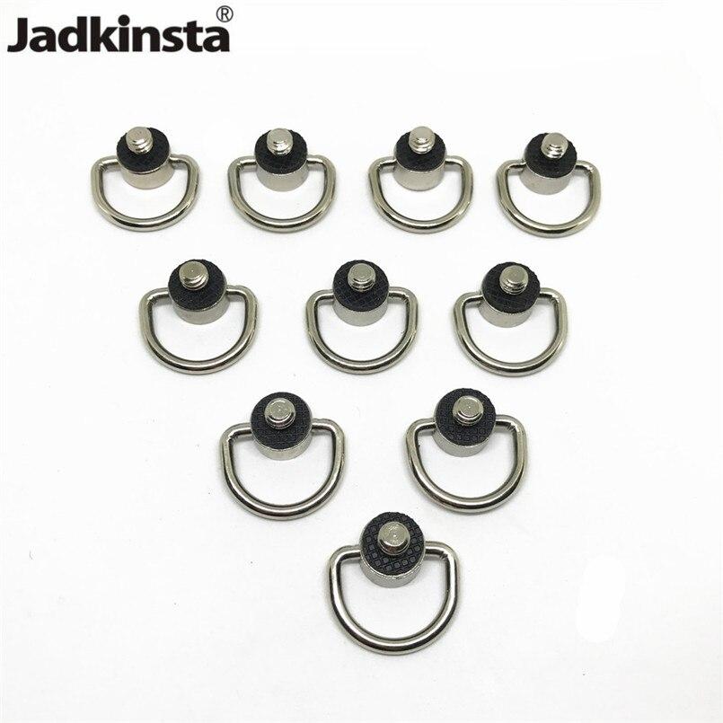 Jadkinsta 50PCS Metal D Ring Camera Screw Adapter DSLR 1 4 Connector Camera Strap Quick Release