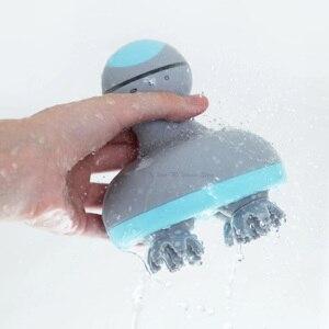 Image 3 - Youpin Mini 3D Testa Massaggiatore M2 A Quattro Ruote di Rotazione Design Dual Driectional Massaggio Cerchio Umido e Secco A Duplice Uso per Smart Home, Casa Intelligente