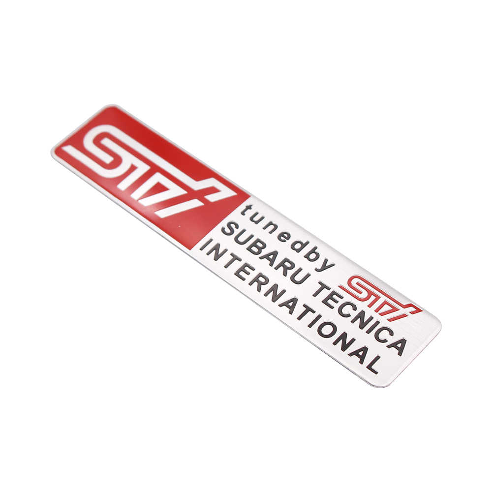 1 PCS מדבקה לרכב סובארו WRX STI אוטומטי גוף מדבקות רכב סטיילינג Chorme סמל תג מדבקה לסובארו אאוטבק אימפרזה legacy XV BRZ