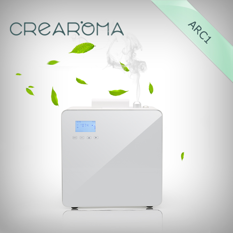 Crearoma Hotel lobby scent essential oil machine nebulizer aroma shenzhen professional aroma diffuser essential oil for hotel lobby