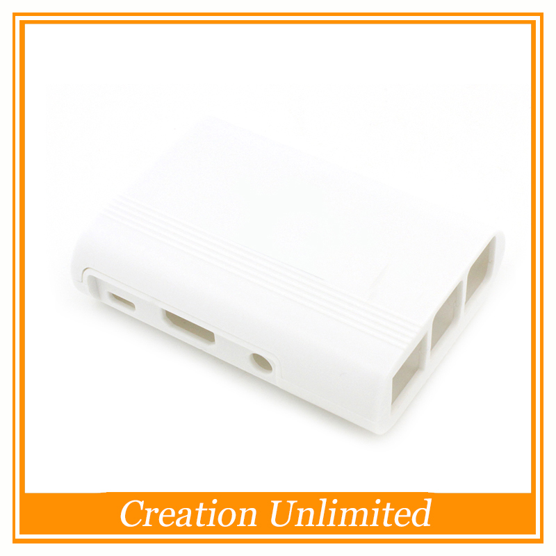 White Case Cover Shell Enclosure Box ABS For Raspberry Pi Model B+ B Plus Raspberry Pi 2 Model B With no Heatsink