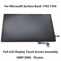 13 5 For Microsoft Surface Book 1703 1704 Full LCD Display Panel Touch Screen Glass Digitizer