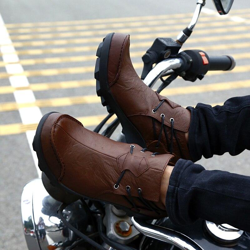 Dolce Alternativa Primavera Scarpe Da Corsa Moto Sport Casual Stivali Moto Equitazione Da Uomo Da Corsa Botas Motocross Ciclismo Scarpe