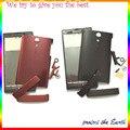 Первоначально Новая Полный Жилищно Для Sony Xperia Ion LT28i LT28H LT28 Полный Шлангом Чехол С Боковой Кнопки