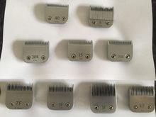 Profissional pet clipper a5 lâmina 7fc 10 #40 # 58ht 15 3f 4f 5f 7f 30 #15 # caber mais andis oster clippers pet grooming substituição