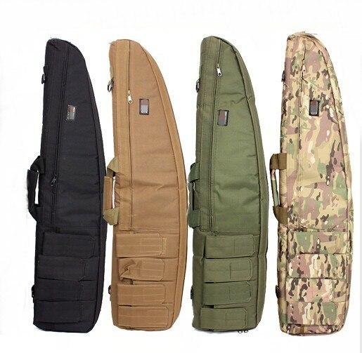 Robuste 1.2M chasse tactique mallette à fusil fusil fusil de chasse sac sac de transport sac de rangement éponge doublure Air doux Sniper pistolet fusil sac