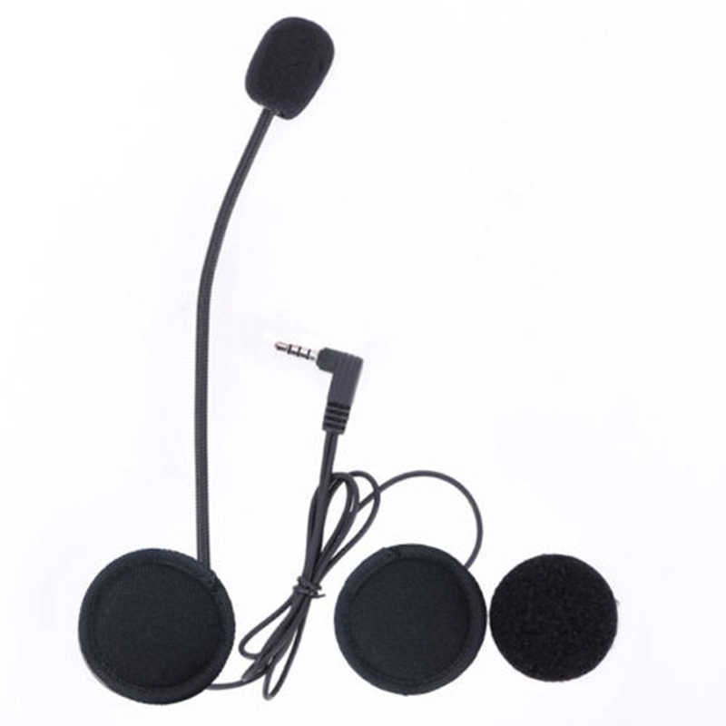 Wired Headset MicSpeaker for V4V6 Motorcycle Bluetooth Helmet Intercom with Clip Intercomunicador Moto Accessories (4)