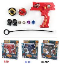 2pcs/set Gyro Toy Kit Beyblade Metal Spinning Tops Bayblade with Launcher pull line Fusion Limited Edition Children Game Toys(China)
