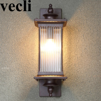 Retro waterproof outdoor lighting wall lamps garden corridor Exterior wall residential buitenverlichting