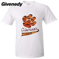 Clemson University Clemson Tigers National Champions Men S Retro 100 Cotton Short Sleeve T Shirt