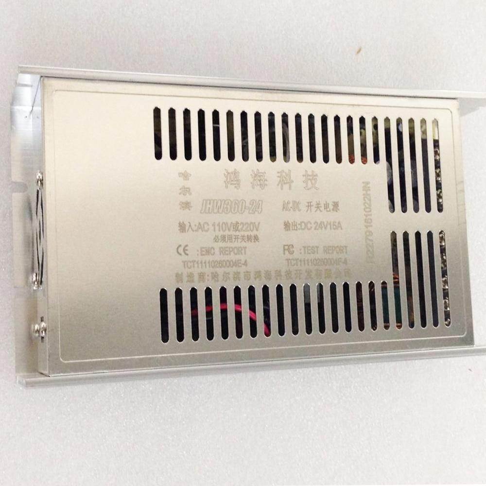 ФОТО CreatBot Power Pack AC110v 220v DC 24V 15A Original 3d printer parts CreatBot Power Supply DX DE PLUS D600 printer China