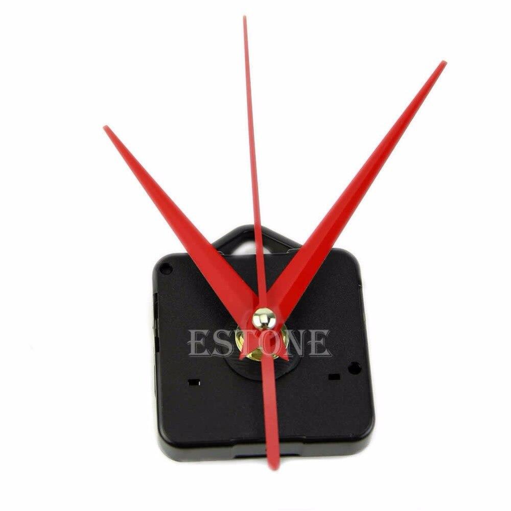 Red Hands Silence DIY Quartz Clock Spindle Movement Mechanism Repair DIY Tool Kit