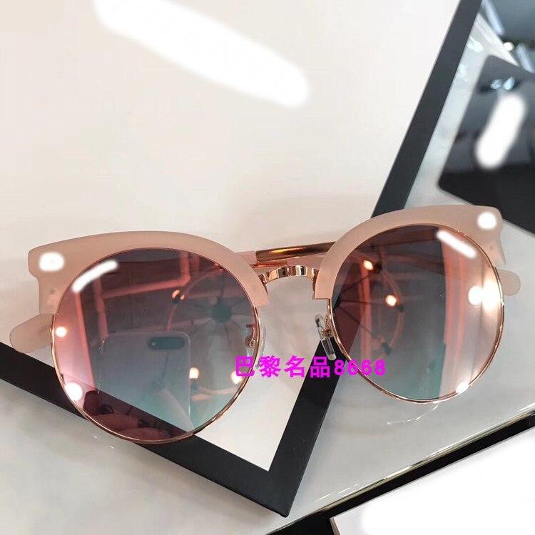 K04112 2019 роскошные взлетно посадочной полосы солнцезащитные очки для женщин для брендовая Дизайнерская обувь солнцезащитные очки для женщин