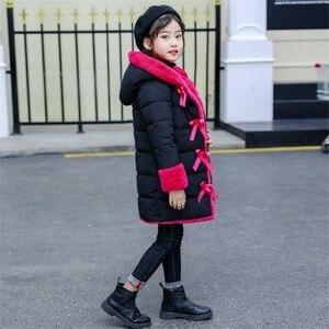Image 5 - 2020 novas meninas moda inverno imitação casaco de pele casacos quente parka crianças roupas de bebê crianças engrossar mais veludo roupas 30