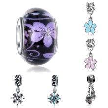 charms plata de ley plata de ley 925 original bracelet jewelry making valentine's day mary poppins bijoux sieraden beads цена