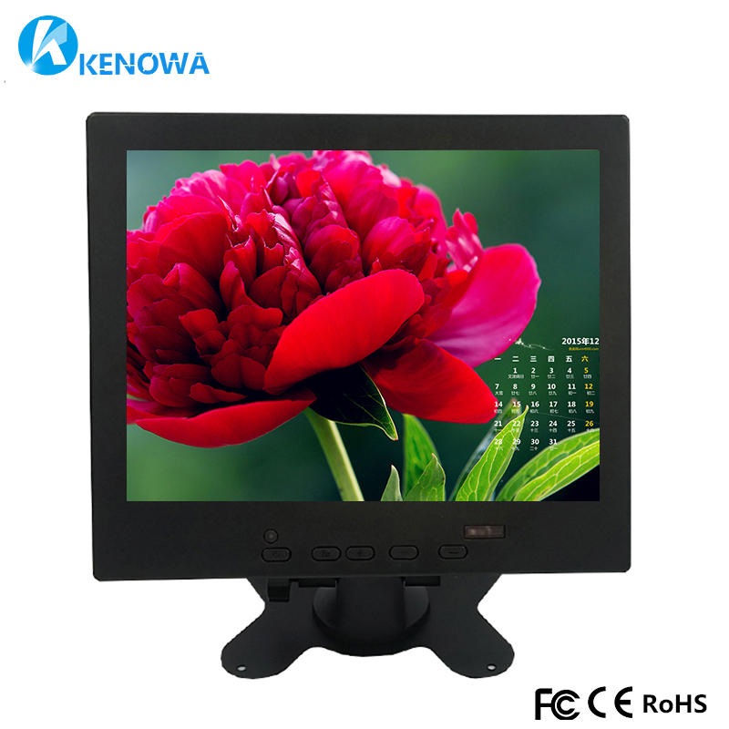 8 Inch 1024*768 IPS Industrial LCD monitor HDMI HD AV VGA Input Screen Computer Monitor PC Display for Raspberry