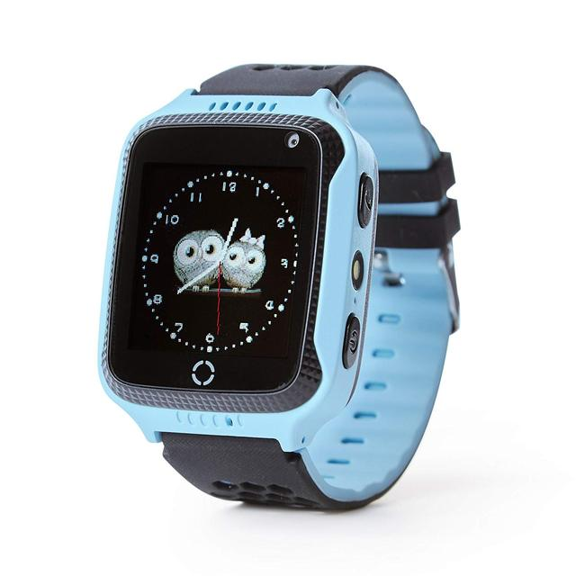 Smart Watch For Kids Boys Girls Fitness Baby Phone Touch Screen With GPS Tracking Tracker Children SOS Call Camera Blue Pink