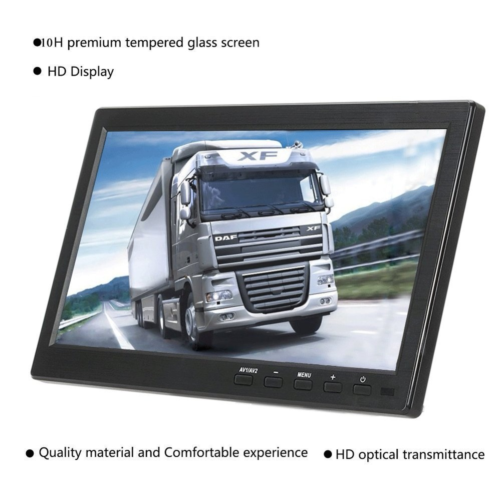 "10,1 ""lcd Ips Screen Monitor 1920x1200 Hdmi Industrielle Monitor Lcd Screen Display Mit Av/vga/ Hdmi/usb/lautsprecher Perfekte Verarbeitung"