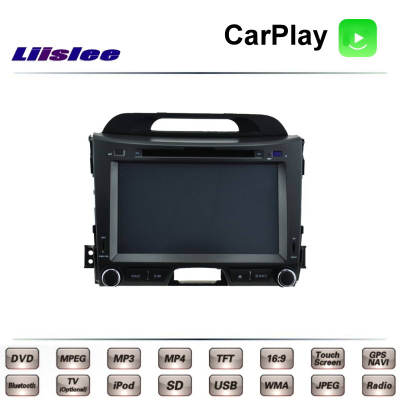 For KIA Sportage R SL MK3 2010~2016 Car Multimedia TV DVD GPS Radio Carplay Original Style Navigation Liislee Advanced Navi торп к знакомство с феями