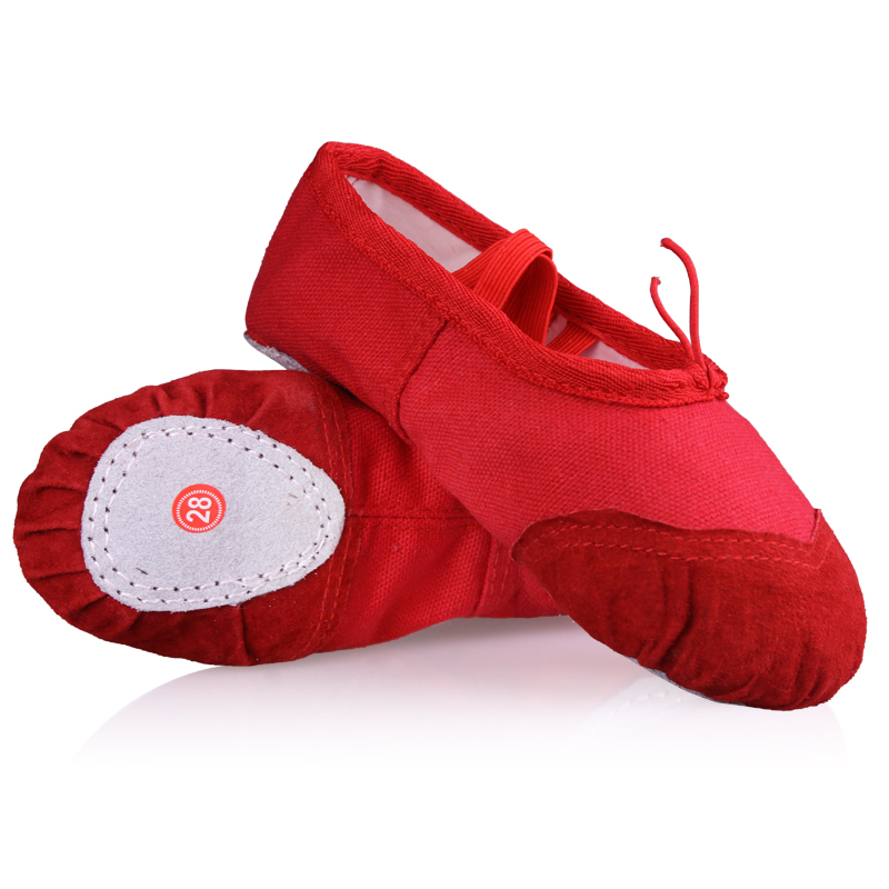 Wholesale Children Girls Kids Soft Sole Ballet Dance Shoes 3-13 Years