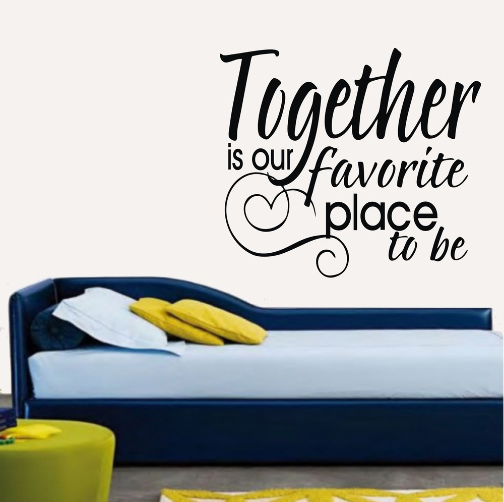 compare prices on family wall words online shopping buy low price free shipping classic warm family quote decal stickers lettering art words together is our favorite place