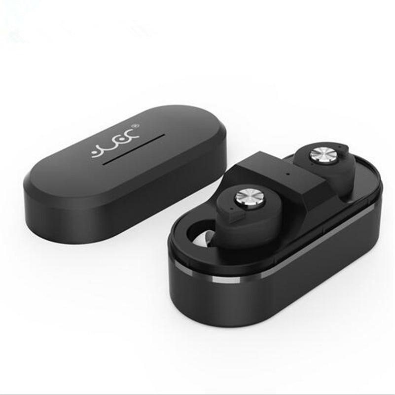 ФОТО 2017 New Original TWS T8 Bluetooth Stereo Earphone Wireless Music Player Headsets Handsfree Mini Headphone Earbud