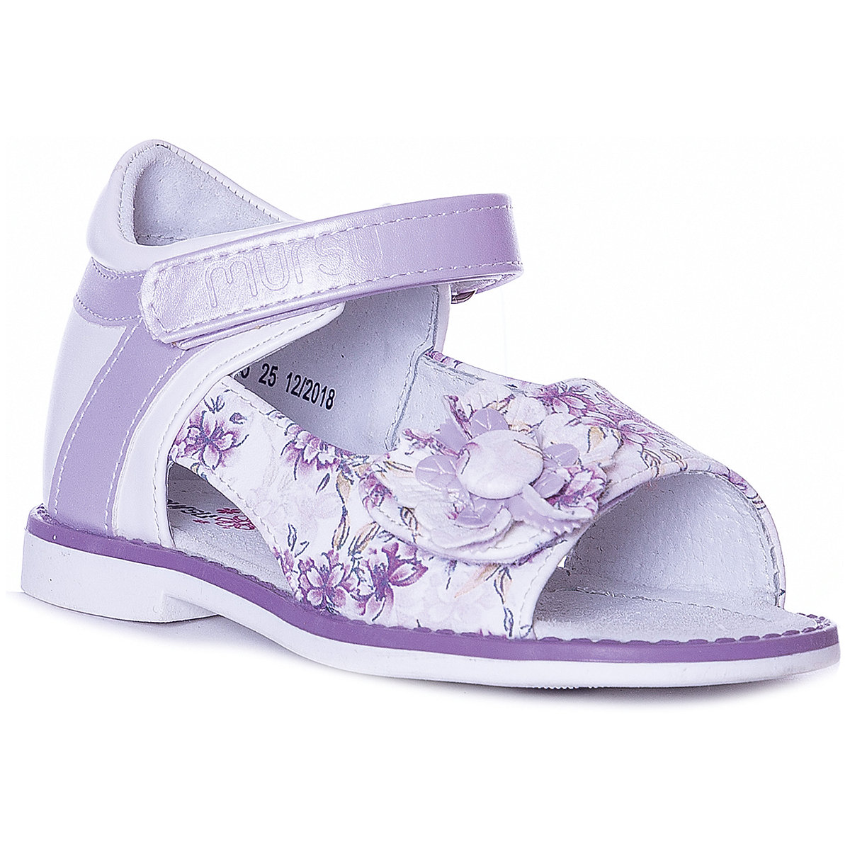 MURSU Sandals 10611993 children's shoes comfortable and light girls and boys ladies pointed and flat bottom comfortable casual shoes