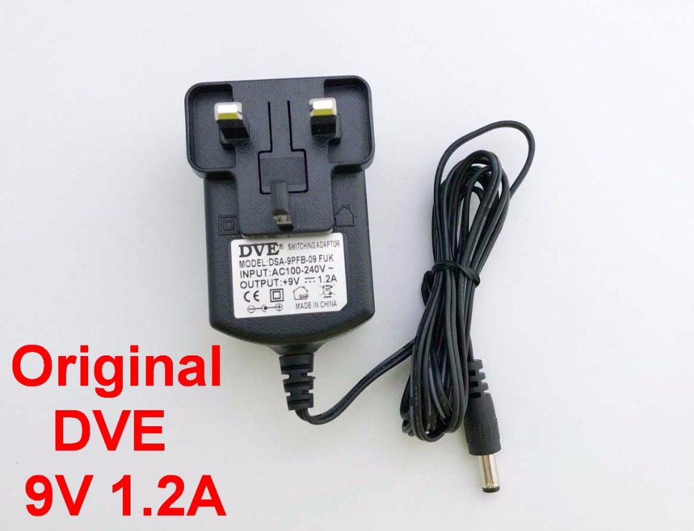 1200mA 5.5mm x 2.1mm DC Adapter Charger Cord 12V 1.2A AC
