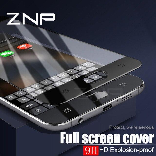 ZNP закаленное стекло 9h для samsung Galaxy S7 S6 A3 A5 A7 2016 2017 J3 J5 J7 Экран протектор для samsung S7 закаленное Стекло фильм