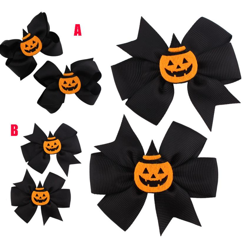 Novelty Halloween Headwear Girls Infant Hair Band Cute Barrettes Flower Hair Accessories for 3 -10 years toddler kids #81HL