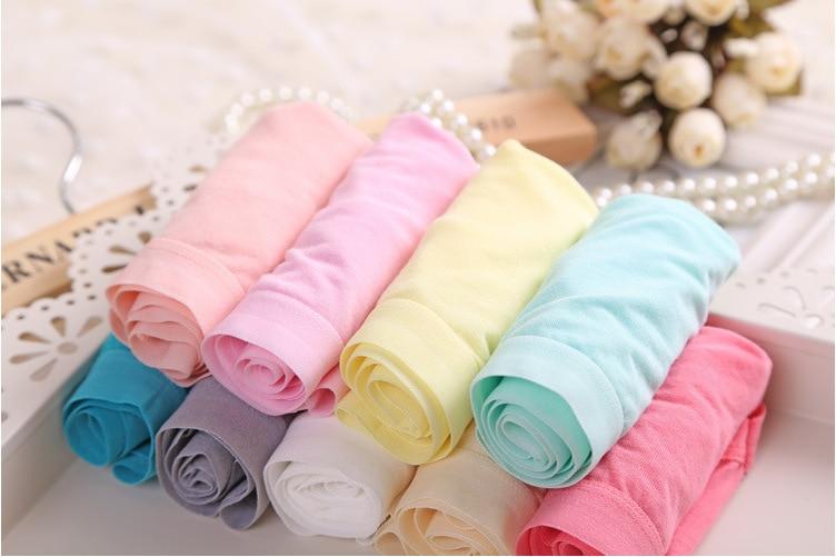 Fashion Bamboo Fibre Seamless Intimates Underwear Pure Colour Knickers Women Everyday Lingerie Calcinhas Briefs Panties