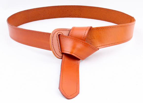 Genuine leather cow skin women fashion   belt   bow tie waistband