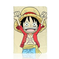 Tablet Case For Apple Ipad Mini4 One Piece Luffy Chopper Zoro Usopp PU Leather Protective Cover