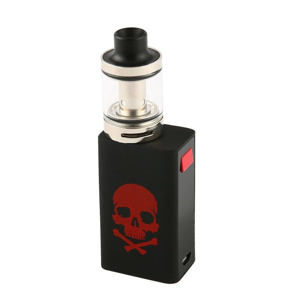 E Vape cigarrillo electrónico 50 W E cigarrillo Electronique moda cráneo patrón caja grande Mod Smok Elektronik Sigara 2 ml