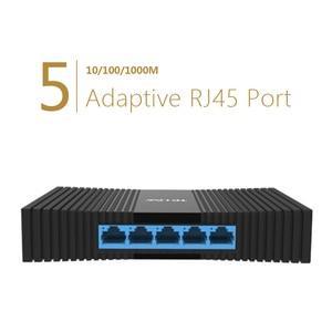 Image 2 - TP LINK Gigabit Network Switchs TL SG1005M  5 port desktop Switch 10/100/1000Mbps RJ45 port Easy Smart  Ethernet Switch LAN Hub