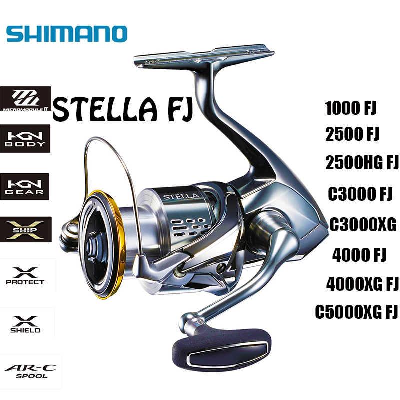 SHIMANO оригинальный Stella FJ 1000 2500 2500HG C3000 C3000XG 4000 4000XG C5000XG 12 + 1BB HAGANE корпус морской барабанов