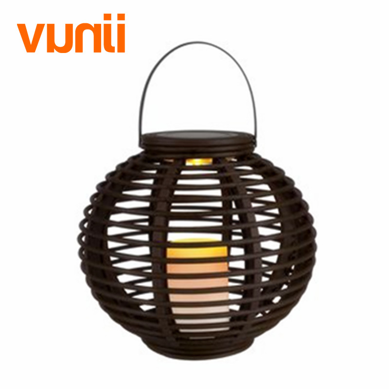 Image 3 - Waterproof LED Solar Powered Candle Lantern With Flickering Amber Luminaria Solar Lamp Outdoor Lighting Decorative Solar Light-in Solar Lamps from Lights & Lighting on AliExpress